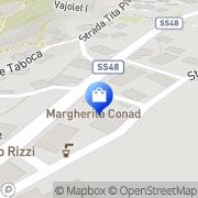 Map MARGHERITA CONAD Pera, Italy