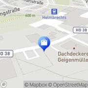 Karte Marco Böhmer Helmbrechts, Deutschland