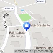 Karte Netto Filiale Kirchenthumbach, Deutschland