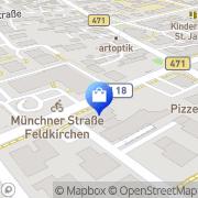 Karte VR Bank München Land Feldkirchen, Deutschland