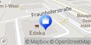 Karte EDEKA Pfeilstetter Kirchheim b.München, Deutschland