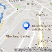 Karte Netto Filiale Miesbach, Deutschland