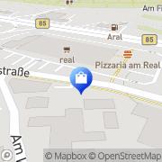 Karte Real Hypermarket Amberg, Deutschland