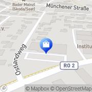 Karte Netto Filiale Feldkirchen-Westerham, Deutschland