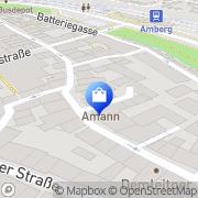 Karte Pulkert Amberg, Deutschland