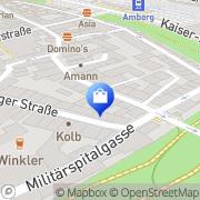 Karte Demleitner Amberg, Deutschland
