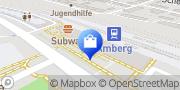 Karte ServiceStore DB - Bahnhof Amberg Amberg, Deutschland