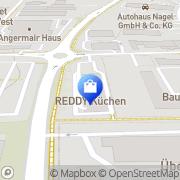 Karte REDDY Küchen Erding Erding, Deutschland