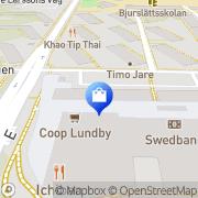Karta Blomsterhallen Wieselgrensplatsen Göteborg, Sverige