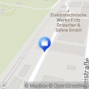 Karte Netto Filiale Moosburg, Deutschland