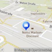 Karte Netto Filiale Bad Wilsnack, Deutschland