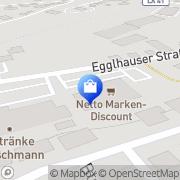 Karte Netto Filiale Pfeffenhausen, Deutschland