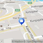 Karta IN-EX Färg AB Göteborg, Sverige