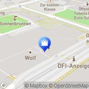 Karte TOM TAILOR Store Gera, Deutschland