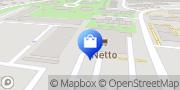 Karte NETTO Deutschland - schwarz-gelber Discounter mit dem Scottie Rostock, Deutschland