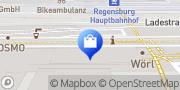 Karte G-Star RAW Store Regensburg, Deutschland