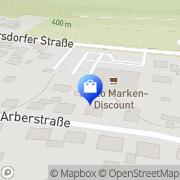 Karte Netto Filiale Schwandorf, Deutschland