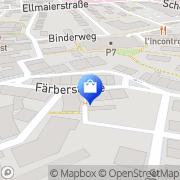 Karte Bredschneider Piano Rosenheim, Deutschland
