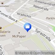 Karte WMF Plauen, Deutschland