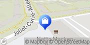 Karte Netto Filiale Rostock, Deutschland