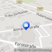 Karte NP-Markt Genthin - Altenplatow Genthin, Deutschland