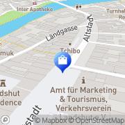 Karte K&L Ruppert Landshut, Deutschland