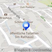 Karte Stadtverwaltung Windischeschenbach, Deutschland