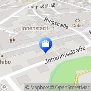 Karte o2 Shop Weiden i.d.OPf., Deutschland