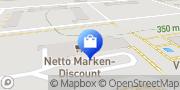 Karte Netto Filiale Greiz, Deutschland