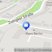 Karte Karl-Heinrich Böhm Buers-Augenoptik Dessau, Deutschland