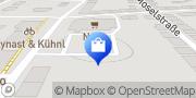 Karte NETTO Deutschland - schwarz-gelber Discounter mit dem Scottie Dessau-Roßlau, Deutschland