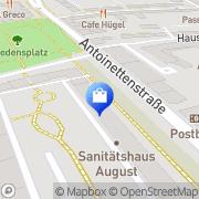 Karte Antoinetten-Apotheke Dessau-Roßlau, Deutschland