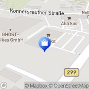 Karte e Neukauf Legat Waldsassen, Deutschland