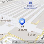 Karte TOM TAILOR Store Leipzig, Deutschland