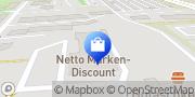 Karte Netto Filiale Leipzig, Deutschland