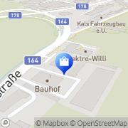 Karte Raumausstattung, Tapezierermeister Wallner Sankt Johann in Tirol, Österreich