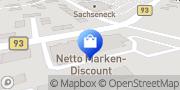 Karte Netto Filiale Borna, Deutschland