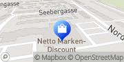 Karte Netto Filiale Kitzscher, Deutschland