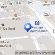 Kort Plaza Ure og Smykker København, Danmark