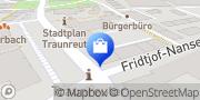 Karte Vodafone Shop Traunreut, Deutschland