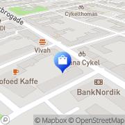 Kort Jarrah Aps/Magnets København, Danmark