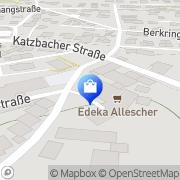 Karte Neukauf - Verbrauchermarkt Cham, Deutschland
