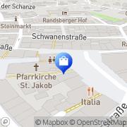 Karte Mathias Frey Cham, Deutschland