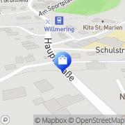 Karte Netto Filiale Willmering, Deutschland