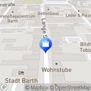 Karte Leiber Barth, Deutschland