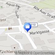 Karte Linden-Apotheke Inh. B. Solbrig Lauter, Deutschland