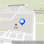Karte OBI Markt Lienz Lienz, Österreich