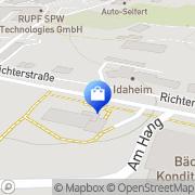 Karte Netto Filiale Schwarzenberg, Deutschland