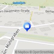 Karte Verwaltung Hohburg, Deutschland