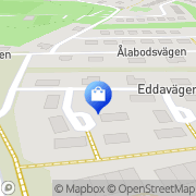 Karta Bingbång Glumslöv, Sverige